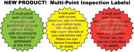 AP-CSI-VI • Multi-Point Inspection Labels