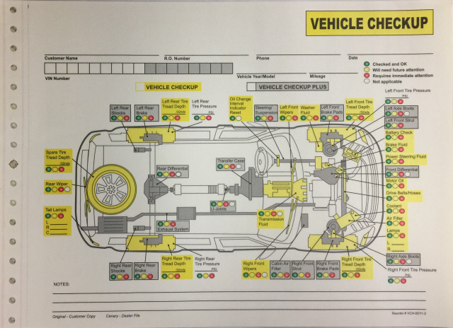 VCH-05/11-2 • Vehicle Checkup, 2 Part